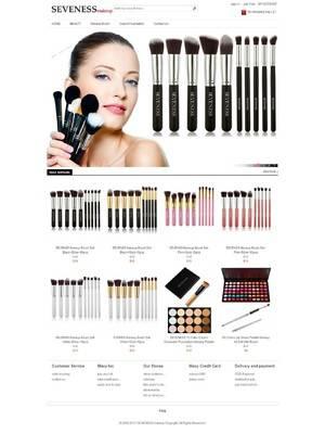SEVENESS makeup美容护肤化妆品外贸商城